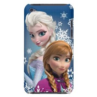 Anna and Elsa with Snowflakes