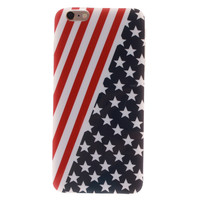 For Iphone 6 6S Cases Cartoon American Flag Pattern Soft TPU Case Cover Fundas For Iphone 6 6S Stars And Stripes Phone Shell