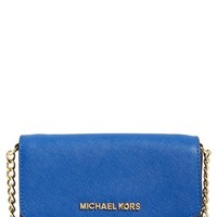 MICHAEL Michael Kors 'Jet Set - Large Phone' Saffiano Leather Crossbody Bag