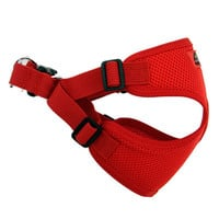 Wrap and Snap Choke Free Dog Harness — Flame Red