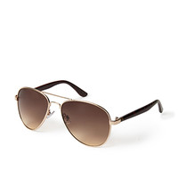 F4785 Spotted Aviator Sunglasses