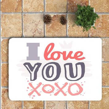Romantic Valentine's Day Area Rug Mat For Living Dining Dorm Room Bedroom Home