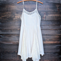 nightingale dress - natural