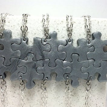 Puzzle Pieces Interlocking Necklaces 10 by GirlwithaFrogTattoo