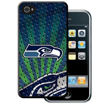 ONETOW Iphone 44S Hard Cover Case - Seattle Seahawks