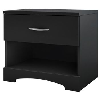 South Shore Timeless Nightstand - Black