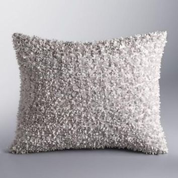 CREY7GX Simply Vera Vera Wang Applique Throw Pillow | null