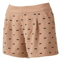 LC Lauren Conrad Bow Shorts