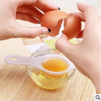 fashion Kitchen Cooking Tool Sifting Gadget Chef Filter Plastic White Yolk Egg Separator Divider = 1669421316