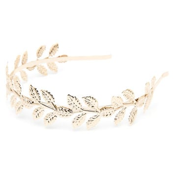 MISS SHOP - Gold grecian headband