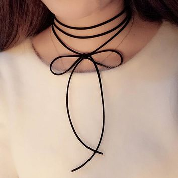 Black Velvet Women'S Chokers Trendy Bijoux Femme Lace Gothic Chokers Necklaces For Women Collares Choker Necklace