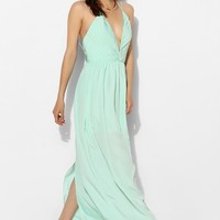 Keepsake Riptide Deep-V Maxi Dress - Urban Outfitters