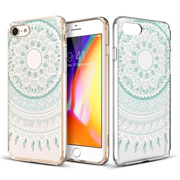 Anti-Scratch Boho Cover Case for iPhone X 8 7 6S Plus &Gift Box