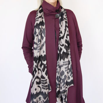 Chalet Fantasia Coat in Mulberry