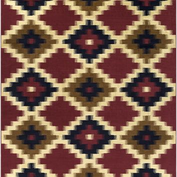Surya Mountain Home Southwest Red MTH-1019 Area Rug