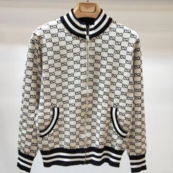 Gucci Women Long Sleeve zipper Jacket
