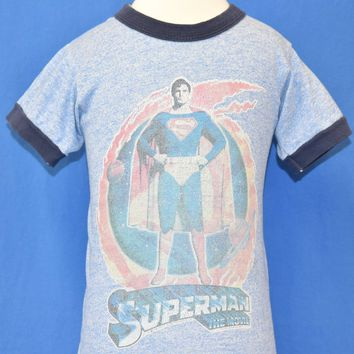 80s Superman: The Movie Ringer t-shirt Toddler 2T