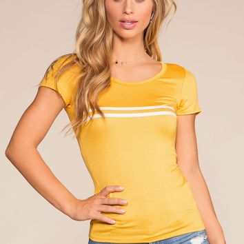 Coolway Top - Yellow