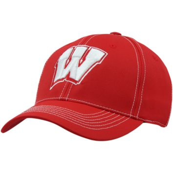 Top of the World Wisconsin Badgers Endurance Tactile One-Fit Hat - Cardinal