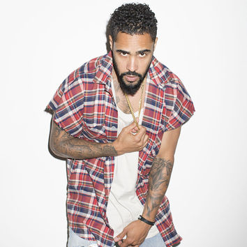 2017 Mens Fear Of God Sleeveless Flannel Shirts Raw Sleeve Rounded Bottom Zippered Side Slit Red Plaid Shirts