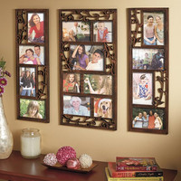 3-Pc. Photo Collage Sets Home Family Decor