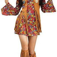Women's Peace Love Hippie Costume