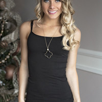 Essential Black Cami