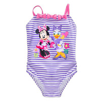 Disney Store me Minnie Mouse & Daisy Happy Helpers Swimsuit for Girls Size:3