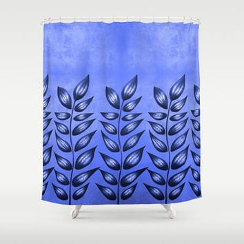 Blue Plant With Pointy Leaves by Boriana Giormova