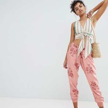Billabong Floral Beach Pants at asos.com