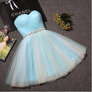 2016 new summer short tuxedo Bridesmaid Bride Bridesmaid Dresses engagement female host sister graduation homecoming dress-1