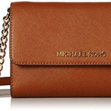 MICHAEL Michael Kors Women's Jet Set Large Phone Cross Body Bag mk