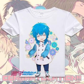 Dramatical Murder Short Sleeve Anime T-Shirt V13