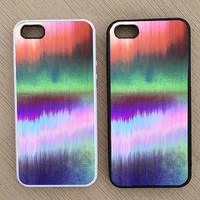 Cute Abstract Colorful Ombre iPhone Case, iPhone 5 Case, iPhone 4S Case, iPhone 4 Case - SKU: 197