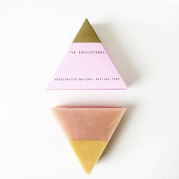Equilateral Handcrafted Soap - Pink Gold
