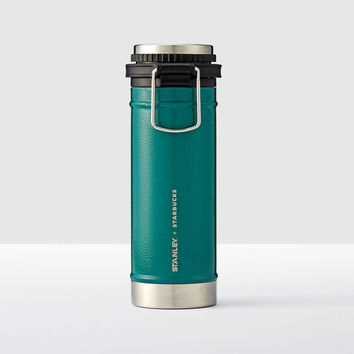 Stanley® + Starbucks® Stainless Steel Travel Coffee Press, 16 fl oz
