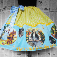 Womens Cosplay, The Wizard Of Oz, Dorothy Costume, Full Skirts, UNIQUE CLOTHING By RoOBY LaNE