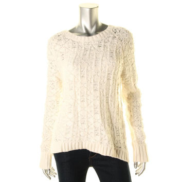 Calvin Klein Jeans Womens Knit Long Sleeves Sweater