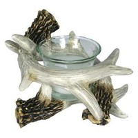 Deer Antler Votive Candle Holder