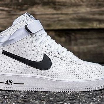 PEAPNW6 Nike Air Force 1 One Mid All Star Running Sport Casual Shoes AF1 315121 120 Sneakers