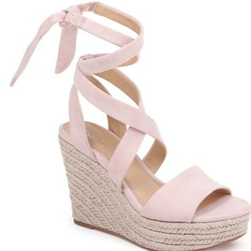 Splendid Tessie Ankle Wrap Wedge Sandal (Women) | Nordstrom