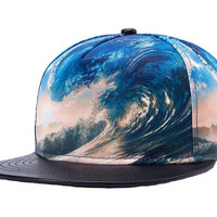 Perfect Waves Snapback Hat