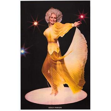 Dolly Parton Yellow Rose of Tennessee Poster 11x17