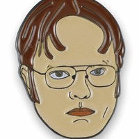 Dwight Schrute Rainn Wilson Enamel Lapel Pin