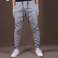 Casual Pants Unique Big Pocket Hip Hop Harem Pants