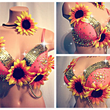 Sunflower Dreams Rave Bra