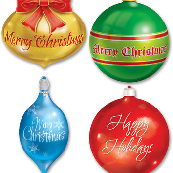 Christmas Ornament Cutouts Case Pack 24