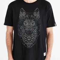 Supremebeing Oxbow Wolf Long Tee- Black