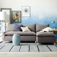 Bliss Down-Filled Sectional