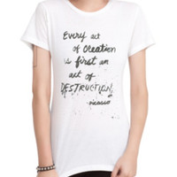 Every Act Picasso Girls T-Shirt
